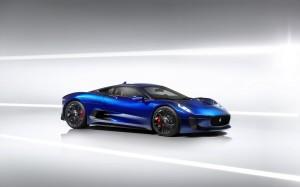 Desktop Wallpaper: Blue Car