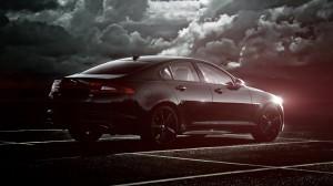 Desktop Wallpaper: Black Jaguar XF