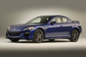 Desktop Wallpaper: Blue Sports Car