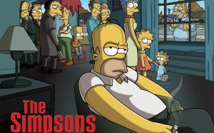 Desktop Wallpaper: The Simpsons Poster