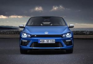 Desktop Wallpaper: Blue Volkswagen Coup...