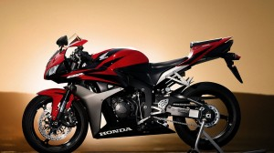 Desktop Wallpaper: Red And Black Honda ...