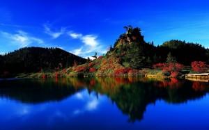 Desktop Wallpaper: Green Mountain Near ...
