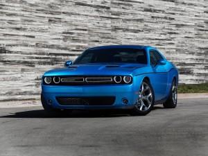 Desktop Wallpaper: Blue Dodge Challenge...