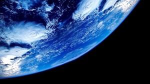 Desktop Wallpaper: Blue Earth Photo