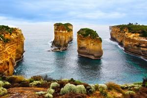 Desktop Wallpaper: Mountain Cliffs With...