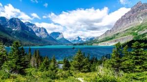 Desktop Wallpaper: Lake And Mountains S...