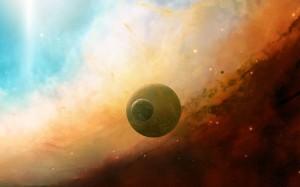 Desktop Wallpaper: Planets On Space