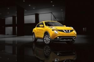 Desktop Wallpaper: Red Nissan Juke On D...
