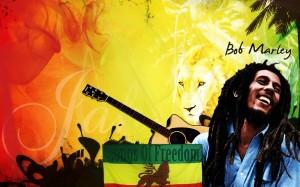 Desktop Wallpaper: Bob Marley Portrait