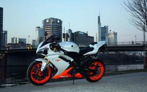 Desktop Wallpaper: White Orange And Bla...