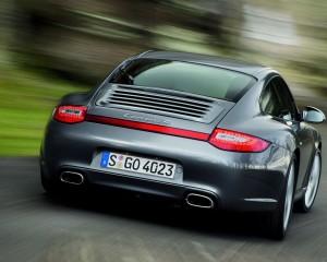 Desktop Wallpaper: Grey Porsche Carrera