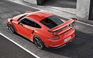 Desktop Wallpaper: Red Porsche 911 Turb...