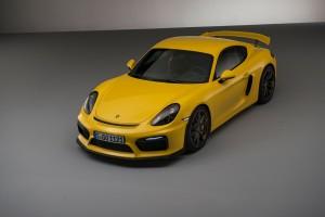Desktop Wallpaper: Yellow Porsche GT