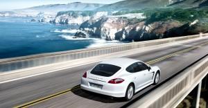 Desktop Wallpaper: White Porsche Cayman...