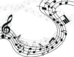 Desktop Wallpaper: Music Notes Illustra...
