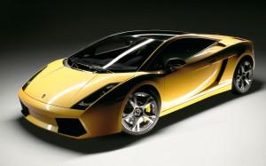 Desktop Wallpaper: Yellow Lamborghini G...