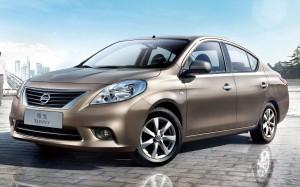Desktop Wallpaper: Brown Nissan Sunny P...