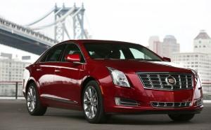 Desktop Wallpaper: Maroon Cadillac ATS