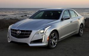 Desktop Wallpaper: Silver Cadillac ATS ...
