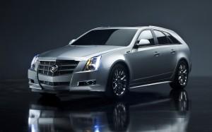 Desktop Wallpaper: Silver Cadillac SRX
