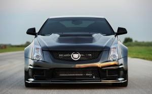 Desktop Wallpaper: Black Cadillac CTS V...