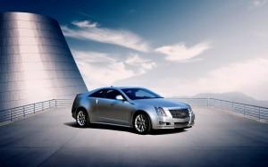 Desktop Wallpaper: Silver Cadillac CTS ...