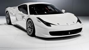 Desktop Wallpaper: White Ferrari 458 It...
