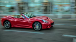 Desktop Wallpaper: Red Ferrari Californ...