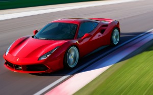 Desktop Wallpaper: Red Ferrari 588 Runn...