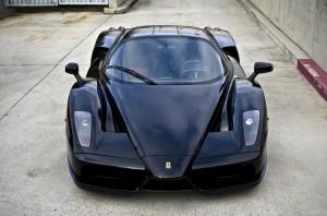Desktop Wallpaper: Black Ferrari Sports...