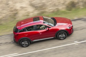 Desktop Wallpaper: Red Hatchback Car On...
