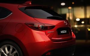 Desktop Wallpaper: Red Coupe During Nig...