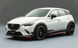 Desktop Wallpaper: White Mazda CX-3