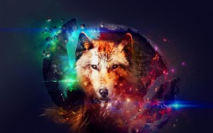 Desktop Wallpaper: Brow Fox Illustratio...