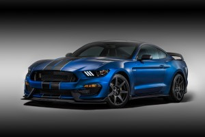 Desktop Wallpaper: Blue Black Ford Must...