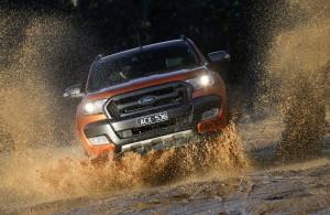 Desktop Wallpaper: Orange Ford Explorer...