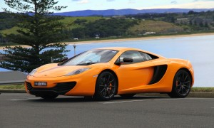 Desktop Wallpaper: Orange Sports Coupe ...