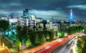 Desktop Wallpaper: Cars On Road With Ta...