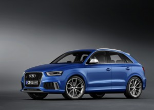 Desktop Wallpaper: Blue Audi 5 Door Hat...