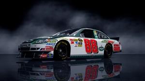 Desktop Wallpaper: White Racing Car