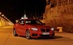 Desktop Wallpaper: Red BMW M3 Coupe