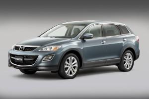 Desktop Wallpaper: Gray Mazda SUV