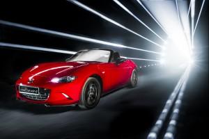 Desktop Wallpaper: Red Mazda MX-5 Roads...