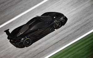 Desktop Wallpaper: Black Sports Car On ...