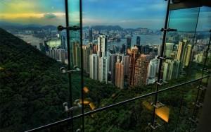 Desktop Wallpaper: Skyscraper View From...