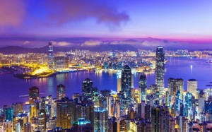 Desktop Wallpaper: City Night View