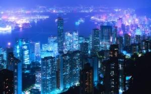 Desktop Wallpaper: Aerial View Of Light...