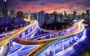 Desktop Wallpaper: Cars On The Roads An...