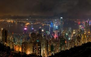 Desktop Wallpaper: City Skyline During ...